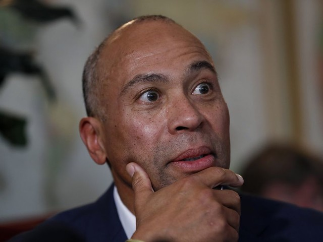 Deval Patrick cancels presidential campaign stop after two people attend