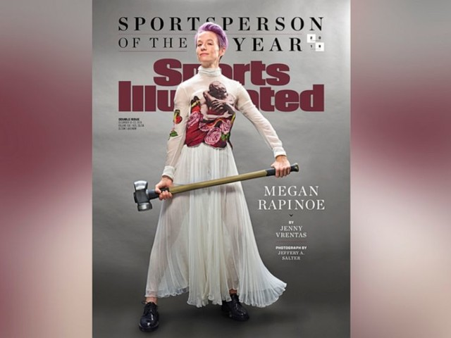 US Women's soccer star Megan Rapinoe named Sports Illustrated's 'Sportsperson of the Year'