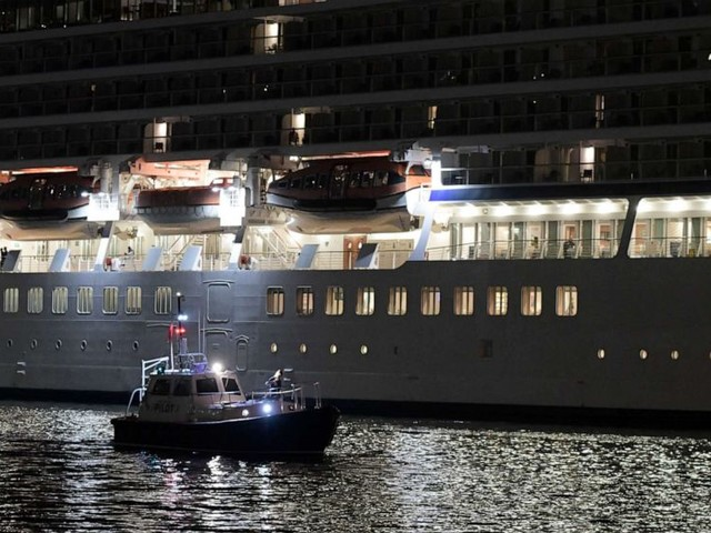 Cruise ship passenger dies after going overboard