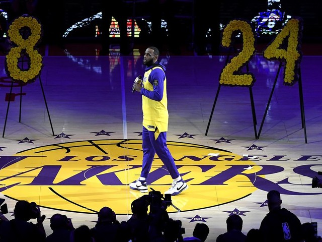 LeBron James' Kobe Bryant tribute was perfect