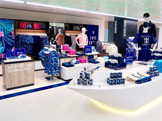 Royal Caribbean unveils enhanced retail offerings on Oasis of the Seas