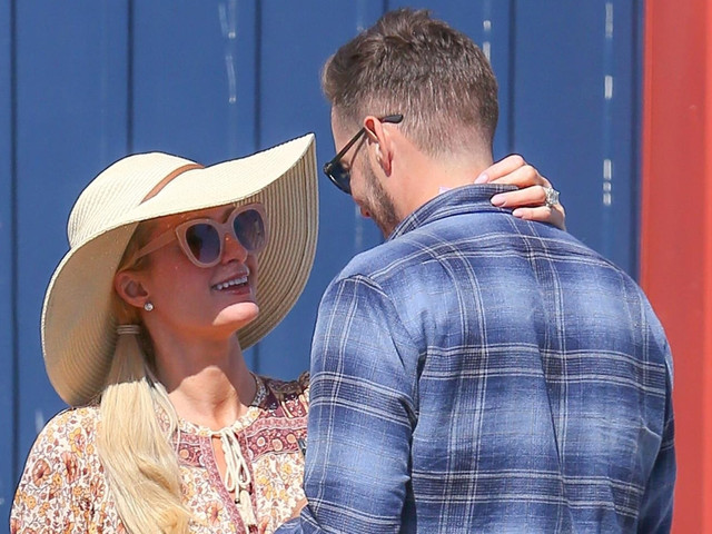 Paris Hilton & Fiance Carter Reum Look So In Love While Out in Malibu!