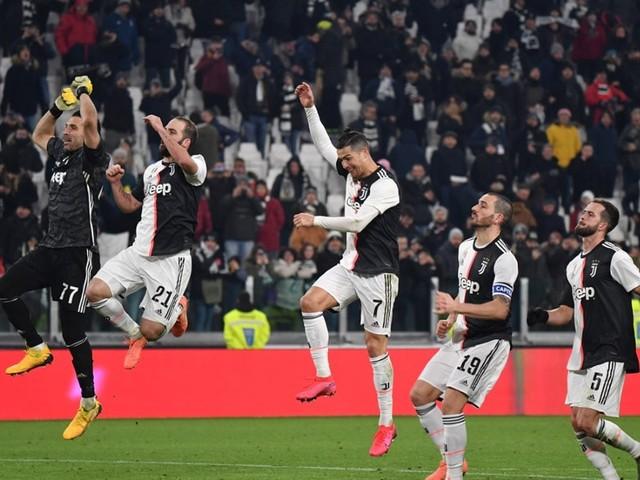 Mum's The Word As Ronaldo Fires Juventus Into Italian Cup Semi-Finals