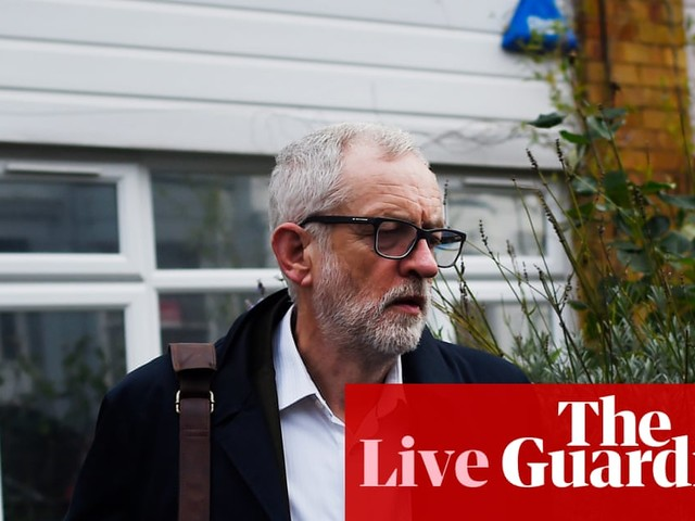 Corbyn provokes anger from Labour critics with NY message glossing over impact of election defeat - live news