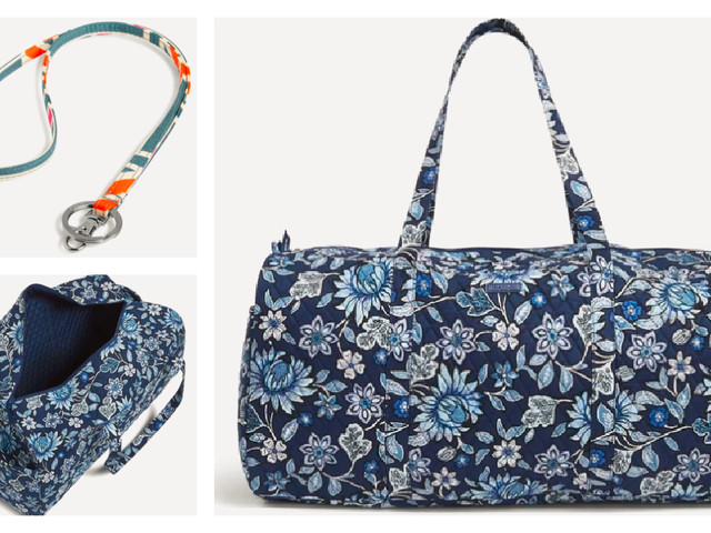 Extra 30% Already Reduced Prices at Vera Bradley Outlet! XL Traveler Duffel Bag $33.25 (Reg. $135)