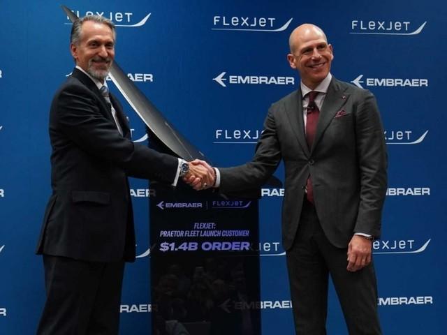 News: Flexjet signs $1.4bn deal to become Praetor launch customer