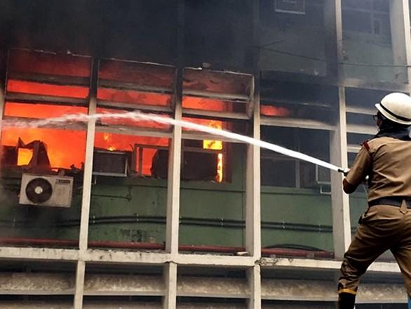 Fire breaks out at AIIMS, 34 fire tenders reach spot