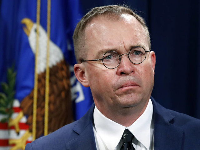 Mulvaney says Democrats will 'never' see Trump tax returns
