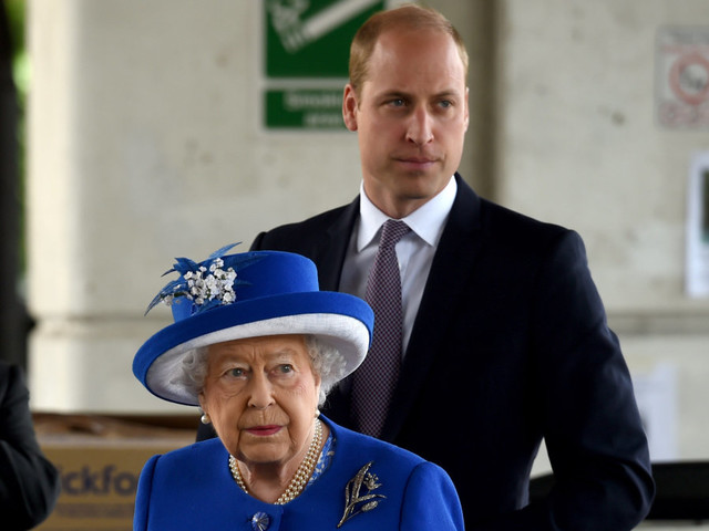 """Prince William's motorcycling hobby """"frightened the life out of"""" Queen Elizabeth"""