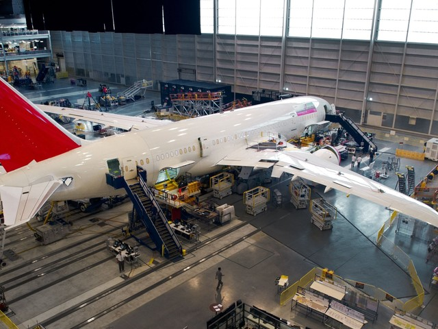 Airlines flying Boeing's 787-10 Dreamliner are complaining about quality they say is 'way below acceptable standards' (BA)