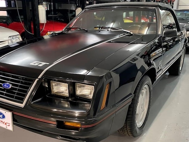 1984 Ford Mustang--GT