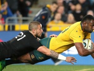 Rugby Championship: 8 tries for NZ in 54-34 win v Australia