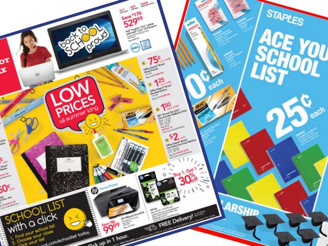Top School Supplies Deals | Items Starting at 25¢