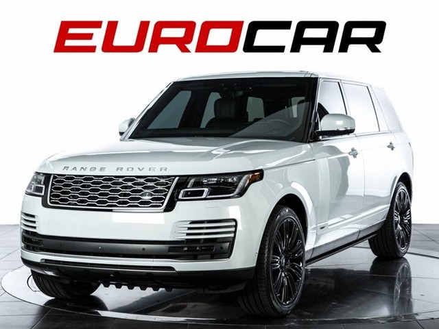 2018 Land-Rover Range--Rover Supercharged LWB