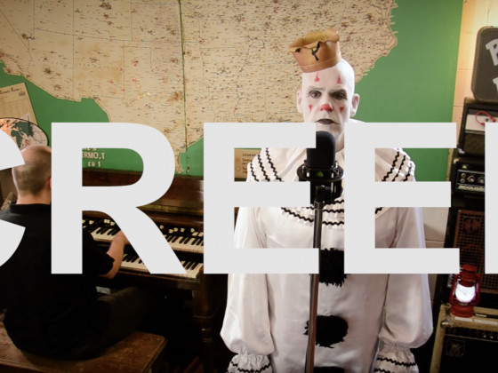 "Giant Clown Sings a Creepy Cover of Radiohead's ""Creep"""