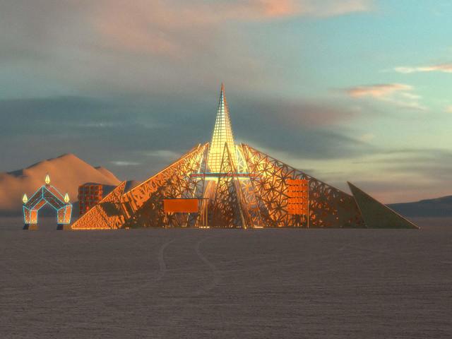 Inside the insane architecture of Burning Man 2020