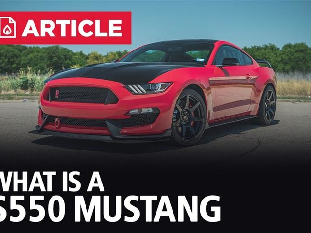 What Is A S550 Mustang?