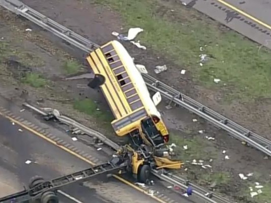 New Jersey school bus driver faces vehicular homicide charges