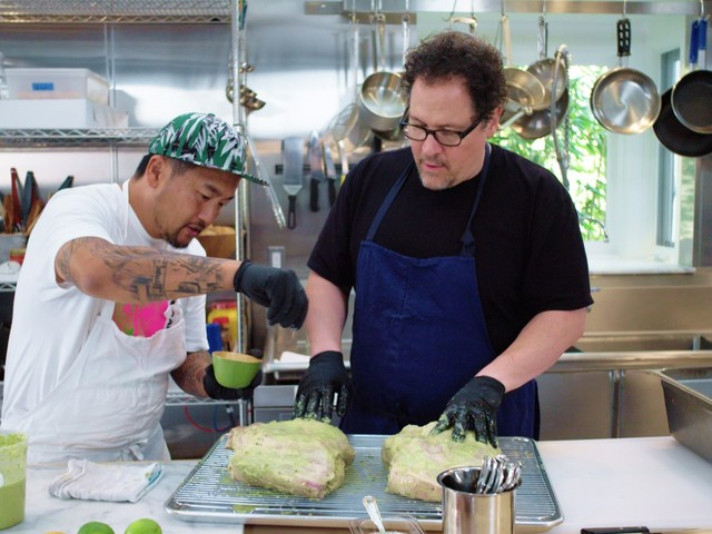 Jon Favreau and Roy Choi on making Season 2 of 'The Chef Show'