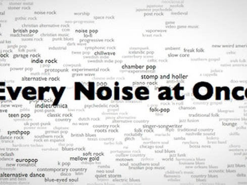 Hear 1,500+ Genres of Music, All Mapped Out on an Insanely Thorough Interactive Graph