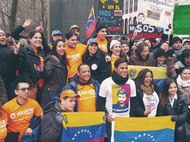 Supporting Venezuelans from New York with Aid and Activism