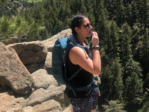 This Hydro Flask hydration pack kept my water cool for over 4 hours on a recent hike — it even had room for my small essentials