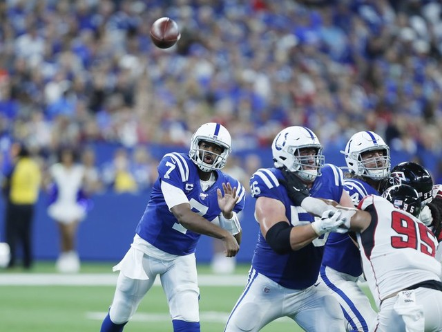 Jacoby Brissett is proving he's more than just the Colts' Plan B