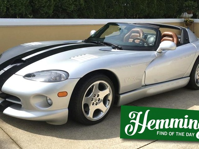 Hemmings Find of the Day: 1999 Dodge Viper RT/10