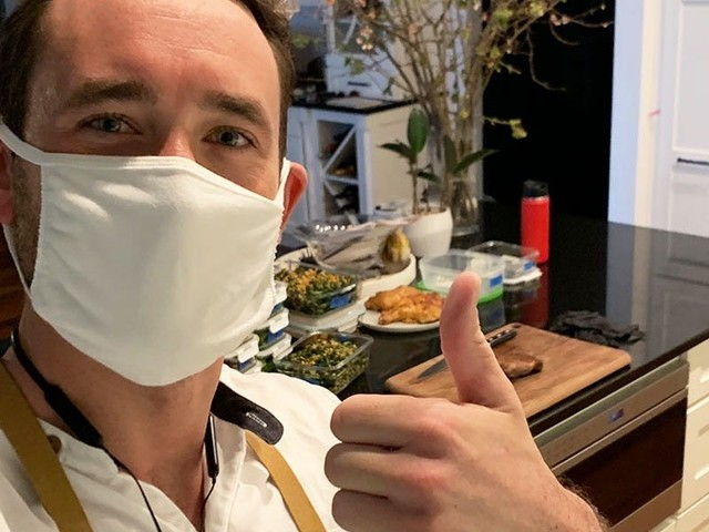 A day in the life of a private chef in NYC, who has been taking the subway to his clients' homes throughout the pandemic and cooking them meals like beef ribeye and kale salad