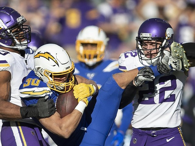 Danielle Hunter's big day included big play that sprung Vikings loose