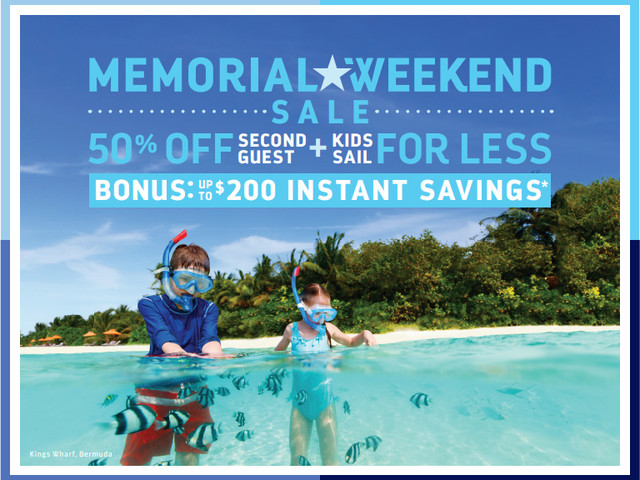 Royal Caribbean's Memorial Day Sale offers up to $200 bonus instant savings