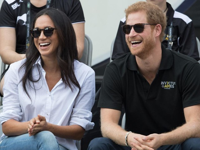 PHOTOS: Prince Harry and Meghan Markle make first public appearance together at Invictus Games