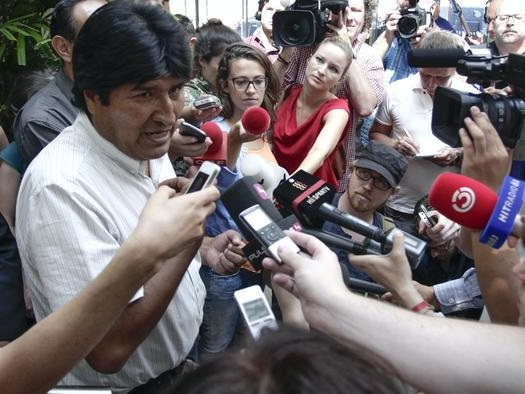 As Anger Toward Belarus Mounts, Recall The 2013 Forced Landing Of Bolivia's Plane To Find Snowden