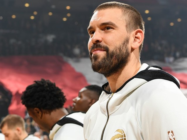 Marc Gasol got'Grit&Grind'on his championship ring with the Raptors
