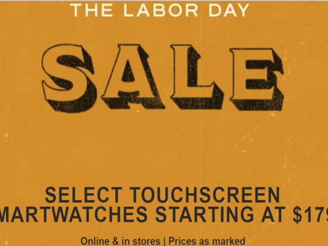 Fossil debuts Labor Day sale, save big on touchscreen and hybrid smartwatches