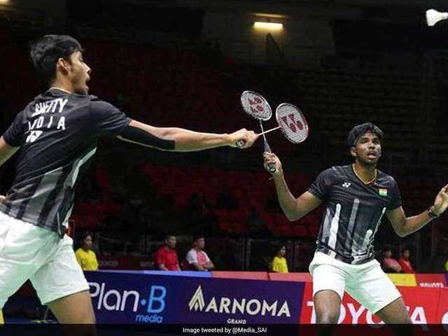 Malaysia Masters: Satwiksairaj, Chirag Knocked Out In First Round