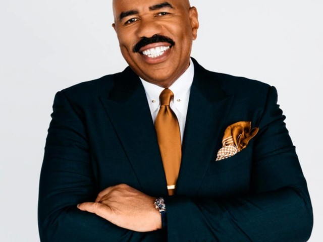 These New Photos of Steve Harvey Have the Internet Blushing