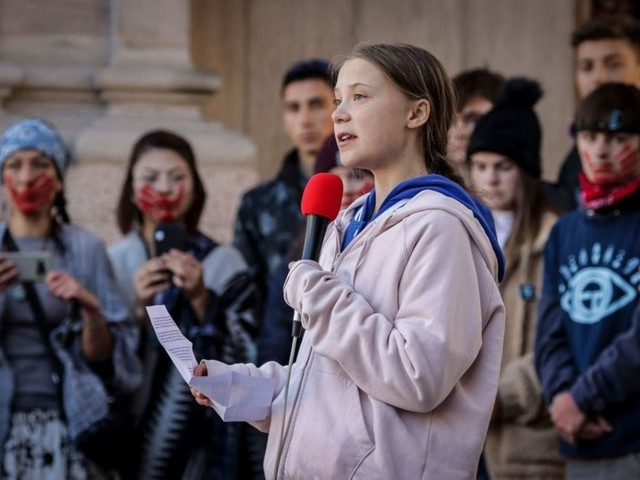 Greta Thunberg says climate activism isn't just about the environment, demands we 'change everything'