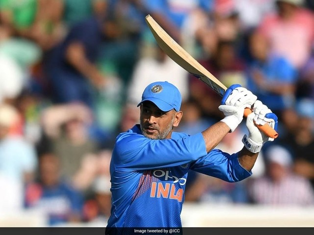 MS Dhoni's Dubious Dismissal During First ODI Upsets Fans