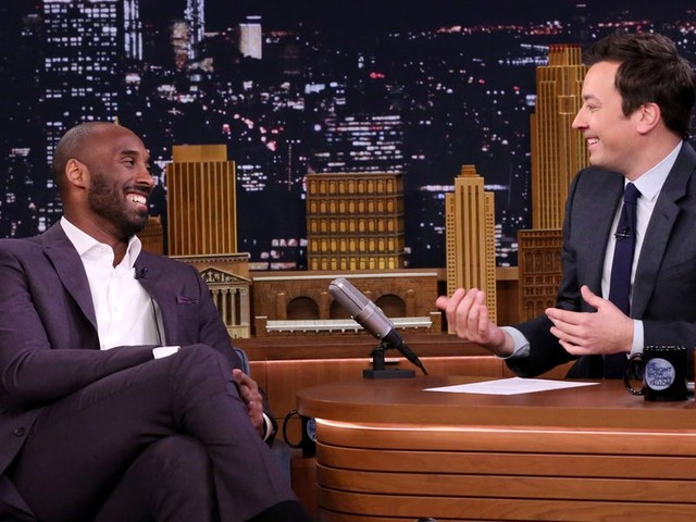 Jimmy Fallon shares story about meeting Kobe Bryant at a party and going on a beer run in touching tribute to the Lakers legend