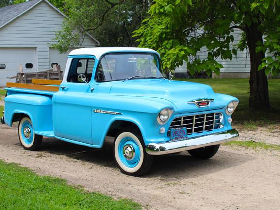 Car of the Week: 1955 Chevrolet 3100 pickup
