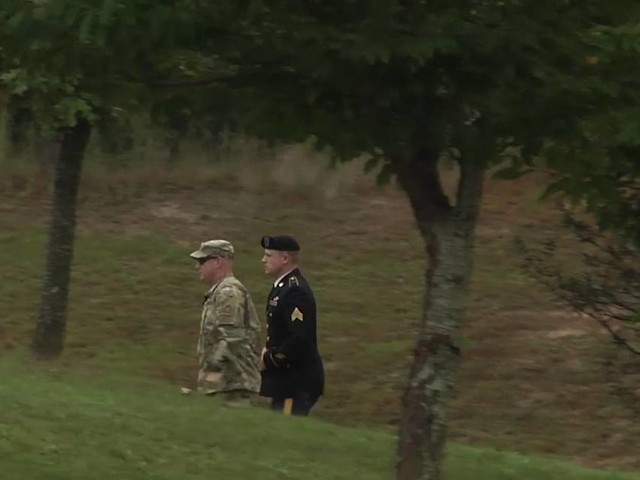 Army Sgt. Bowe Bergdahl enters courthouse before pleading guilty to desertion, misbehavior