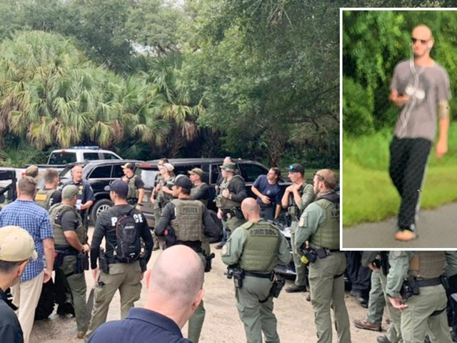 Photo shows person who looks like Brian Laundrie walking Florida street just before police search