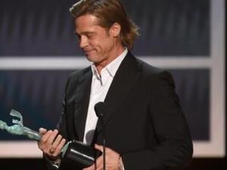 Brad Pitt and Jennifer Aniston win at SAG Awards