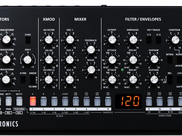 Roland SE-02 is $499 analog synth with sequencer, actually boutique