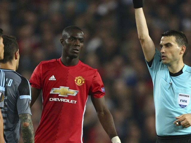 Man United's Bailly gets 3-game UEFA ban, misses Super Cup
