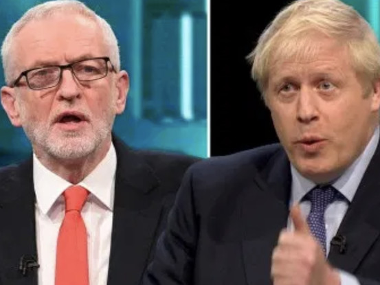 Corbyn Draws Even With Johnson In Dramatic Pre-Vote Debate