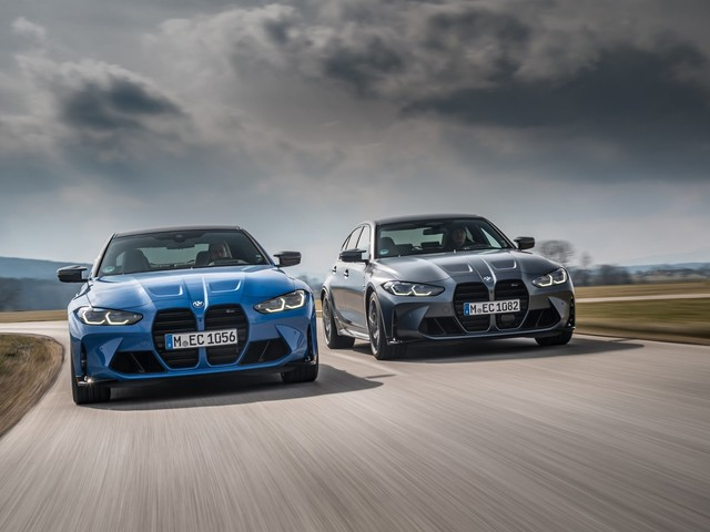 BMW's xDrive AWD System Makes the M3 and M4 Competition Faster Than You'd Expect