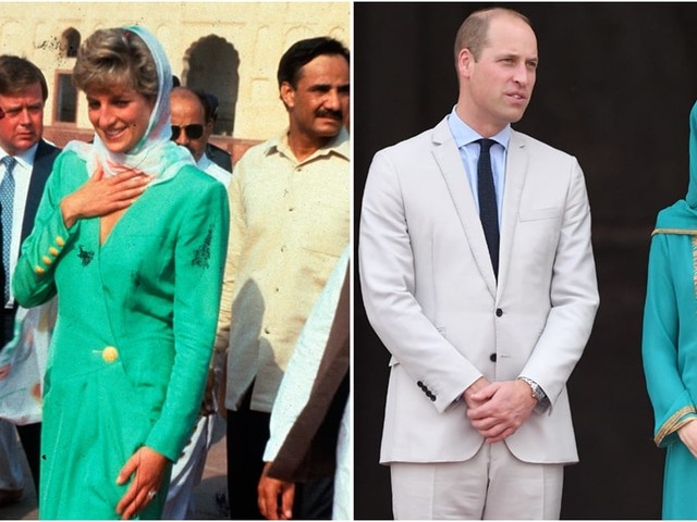 Kate and Will Are Walking in Princess Diana's Footsteps During Their Pakistan Tour
