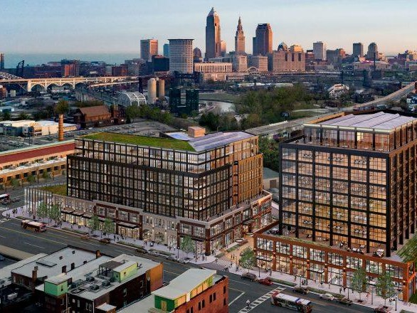 Mass timber project in Cleveland could be nation's tallest